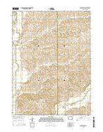 Morton Mills Iowa Current topographic map, 1:24000 scale, 7.5 X 7.5 Minute, Year 2015 from Iowa Map Store