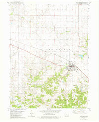 New London Iowa Historical topographic map, 1:24000 scale, 7.5 X 7.5 Minute, Year 1981