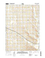 Odebolt East Iowa Current topographic map, 1:24000 scale, 7.5 X 7.5 Minute, Year 2015 from Iowa Map Store