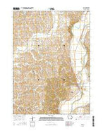 Oto Iowa Current topographic map, 1:24000 scale, 7.5 X 7.5 Minute, Year 2015 from Iowa Map Store