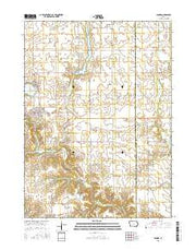 Panora Iowa Current topographic map, 1:24000 scale, 7.5 X 7.5 Minute, Year 2015 from Iowa Maps Store
