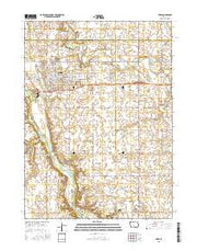 Perry Iowa Current topographic map, 1:24000 scale, 7.5 X 7.5 Minute, Year 2015 from Iowa Maps Store