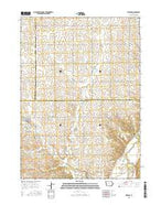 Pierson Iowa Current topographic map, 1:24000 scale, 7.5 X 7.5 Minute, Year 2015 from Iowa Map Store