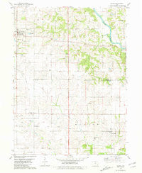 Salem Iowa Historical topographic map, 1:24000 scale, 7.5 X 7.5 Minute, Year 1981