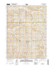 Schleswig Iowa Current topographic map, 1:24000 scale, 7.5 X 7.5 Minute, Year 2015 from Iowa Maps Store