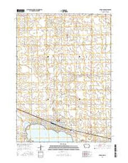 Storm Lake Iowa Current topographic map, 1:24000 scale, 7.5 X 7.5 Minute, Year 2015 from Iowa Maps Store