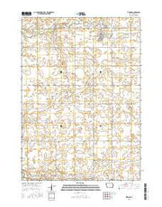 Titonka Iowa Current topographic map, 1:24000 scale, 7.5 X 7.5 Minute, Year 2015 from Iowa Maps Store