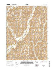 Treynor Iowa Current topographic map, 1:24000 scale, 7.5 X 7.5 Minute, Year 2015 from Iowa Maps Store