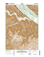 Turkey River Iowa Current topographic map, 1:24000 scale, 7.5 X 7.5 Minute, Year 2015 from Iowa Map Store