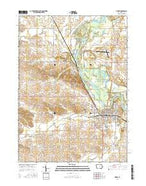 Vinton Iowa Current topographic map, 1:24000 scale, 7.5 X 7.5 Minute, Year 2015 from Iowa Map Store