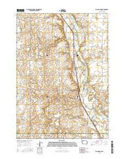 Wallingford Iowa Current topographic map, 1:24000 scale, 7.5 X 7.5 Minute, Year 2015 from Iowa Maps Store