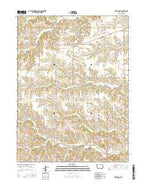 West Grove Iowa Current topographic map, 1:24000 scale, 7.5 X 7.5 Minute, Year 2015 from Iowa Map Store