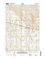 Whittemore Iowa Current topographic map, 1:24000 scale, 7.5 X 7.5 Minute, Year 2015 from Iowa Maps Store