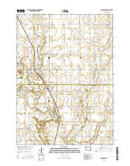Woolstock Iowa Current topographic map, 1:24000 scale, 7.5 X 7.5 Minute, Year 2015 from Iowa Map Store