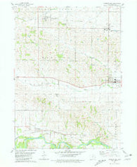 Wyoming West Iowa Historical topographic map, 1:24000 scale, 7.5 X 7.5 Minute, Year 1980