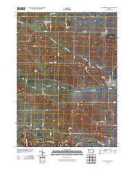 Wyoming West Iowa Historical topographic map, 1:24000 scale, 7.5 X 7.5 Minute, Year 2010