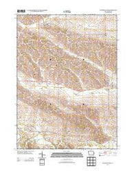 Wyoming West Iowa Historical topographic map, 1:24000 scale, 7.5 X 7.5 Minute, Year 2013