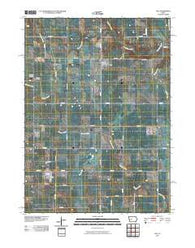 Yale Iowa Historical topographic map, 1:24000 scale, 7.5 X 7.5 Minute, Year 2010