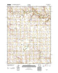 Yale Iowa Historical topographic map, 1:24000 scale, 7.5 X 7.5 Minute, Year 2013