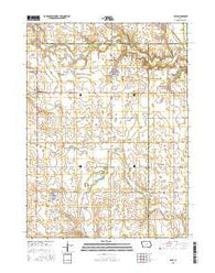 Yale Iowa Current topographic map, 1:24000 scale, 7.5 X 7.5 Minute, Year 2015