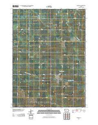 Zearing Iowa Historical topographic map, 1:24000 scale, 7.5 X 7.5 Minute, Year 2010
