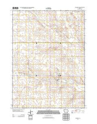 Zearing Iowa Historical topographic map, 1:24000 scale, 7.5 X 7.5 Minute, Year 2013