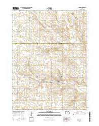 Zearing Iowa Current topographic map, 1:24000 scale, 7.5 X 7.5 Minute, Year 2015