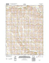 Zion Iowa Historical topographic map, 1:24000 scale, 7.5 X 7.5 Minute, Year 2013
