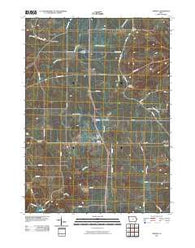 Zwingle Iowa Historical topographic map, 1:24000 scale, 7.5 X 7.5 Minute, Year 2010