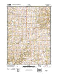 Zwingle Iowa Historical topographic map, 1:24000 scale, 7.5 X 7.5 Minute, Year 2013