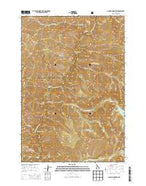 Aggipah Mountain Idaho Current topographic map, 1:24000 scale, 7.5 X 7.5 Minute, Year 2013 from Idaho Map Store