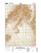 Albion Idaho Current topographic map, 1:24000 scale, 7.5 X 7.5 Minute, Year 2013 from Idaho Map Store