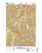 Allan Mountain Idaho Current topographic map, 1:24000 scale, 7.5 X 7.5 Minute, Year 2013 from Idaho Map Store