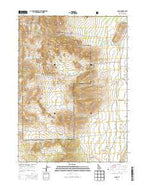 Almo Idaho Current topographic map, 1:24000 scale, 7.5 X 7.5 Minute, Year 2013 from Idaho Map Store