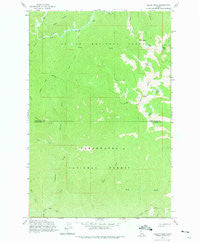 Bacon Peak Idaho Historical topographic map, 1:24000 scale, 7.5 X 7.5 Minute, Year 1963