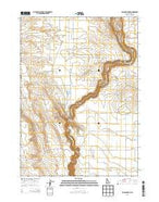 Balanced Rock Idaho Current topographic map, 1:24000 scale, 7.5 X 7.5 Minute, Year 2013 from Idaho Map Store