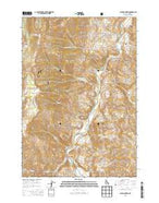 Bald Mountain Idaho Current topographic map, 1:24000 scale, 7.5 X 7.5 Minute, Year 2013 from Idaho Map Store