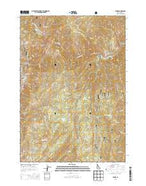 Banks Idaho Current topographic map, 1:24000 scale, 7.5 X 7.5 Minute, Year 2013 from Idaho Map Store