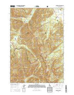 Banner Summit Idaho Current topographic map, 1:24000 scale, 7.5 X 7.5 Minute, Year 2013 from Idaho Map Store