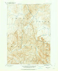 Bear Valley Idaho Historical topographic map, 1:125000 scale, 30 X 30 Minute, Year 1891
