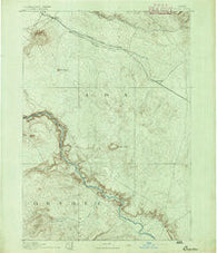Bisuka Idaho Historical topographic map, 1:125000 scale, 30 X 30 Minute, Year 1892