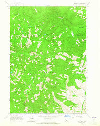 Black Mtn Idaho Historical topographic map, 1:24000 scale, 7.5 X 7.5 Minute, Year 1963