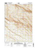 Black Butte East Idaho Current topographic map, 1:24000 scale, 7.5 X 7.5 Minute, Year 2013 from Idaho Map Store