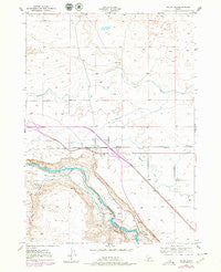 Bliss Idaho Historical topographic map, 1:24000 scale, 7.5 X 7.5 Minute, Year 1949