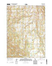 Bone Idaho Current topographic map, 1:24000 scale, 7.5 X 7.5 Minute, Year 2013 from Idaho Maps Store