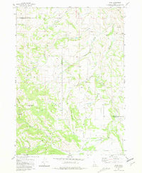 Bone Idaho Historical topographic map, 1:24000 scale, 7.5 X 7.5 Minute, Year 1963