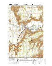 Bonners Ferry Idaho Current topographic map, 1:24000 scale, 7.5 X 7.5 Minute, Year 2013 from Idaho Maps Store