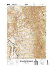 Bonneville Peak Idaho Current topographic map, 1:24000 scale, 7.5 X 7.5 Minute, Year 2013 from Idaho Maps Store