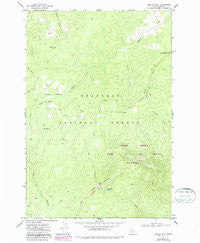Boston Mountain Idaho Historical topographic map, 1:24000 scale, 7.5 X 7.5 Minute, Year 1977