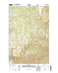 Bovill Idaho Current topographic map, 1:24000 scale, 7.5 X 7.5 Minute, Year 2014
